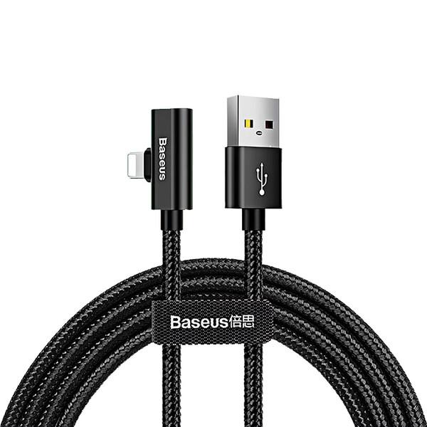 Кабель-переходник Baseus Entertaining Audio Cable Lightning to USB 1m Black