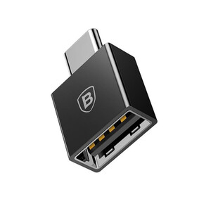 Купить Переходник Baseus Exquisite USB to USB Type-C Black