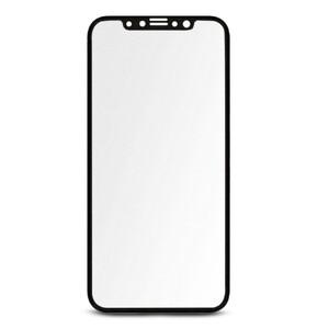 Купить Матовое полноэкранное защитное стекло Baseus 3D Silk-Screen 0.23mm Black для iPhone X