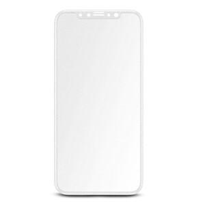 Купить Матовое полноэкранное защитное стекло Baseus 3D Silk-Screen 0.23mm White для iPhone X