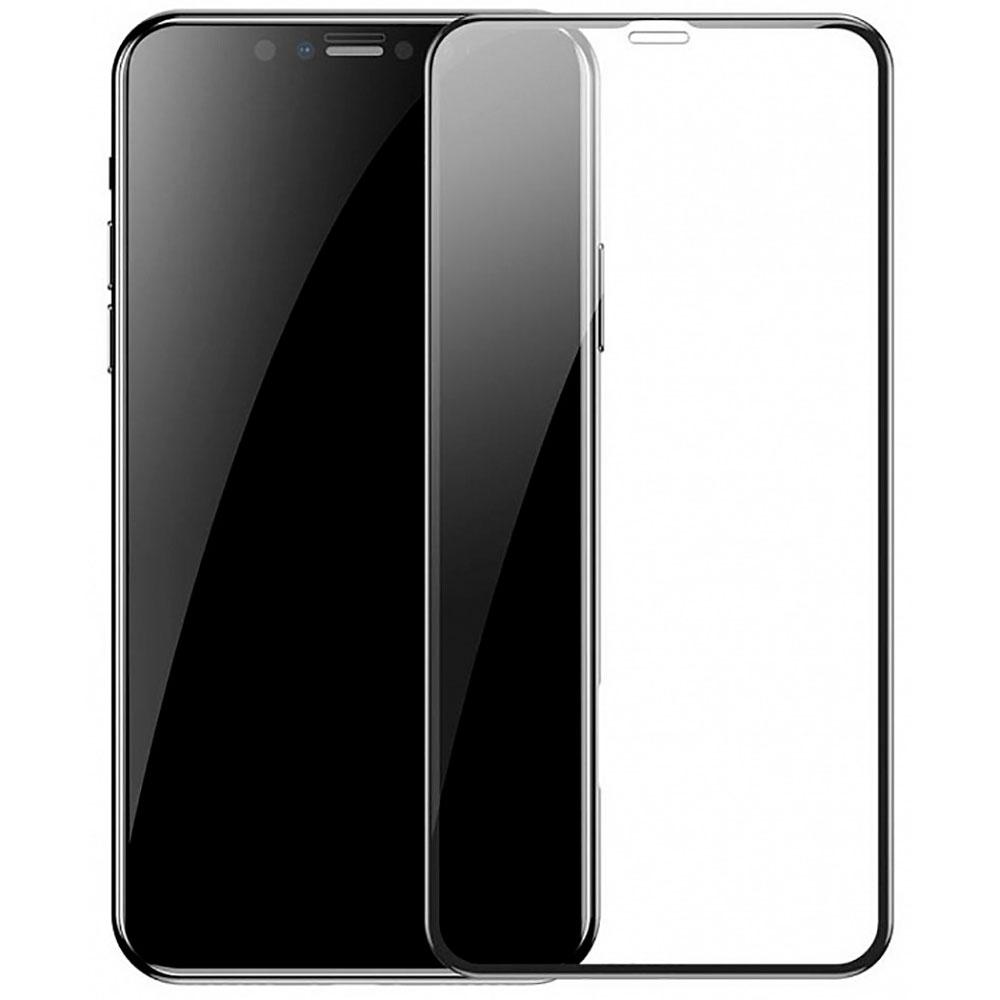 Купить Защитное стекло Baseus Full Coverage Curved Tempered Glass для iPhone 11 | XR