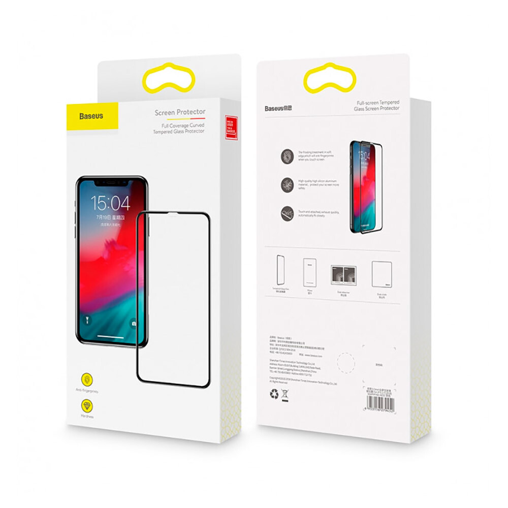 Baseus Full Coverage Curved Tempered Glass