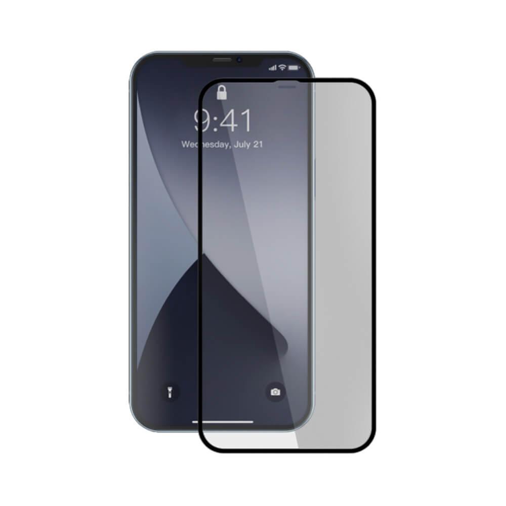 Купить Защитное стекло Baseus Full-screen Curved Tempered Glass 0.3mm Black для iPhone 12 mini (2 шт.)