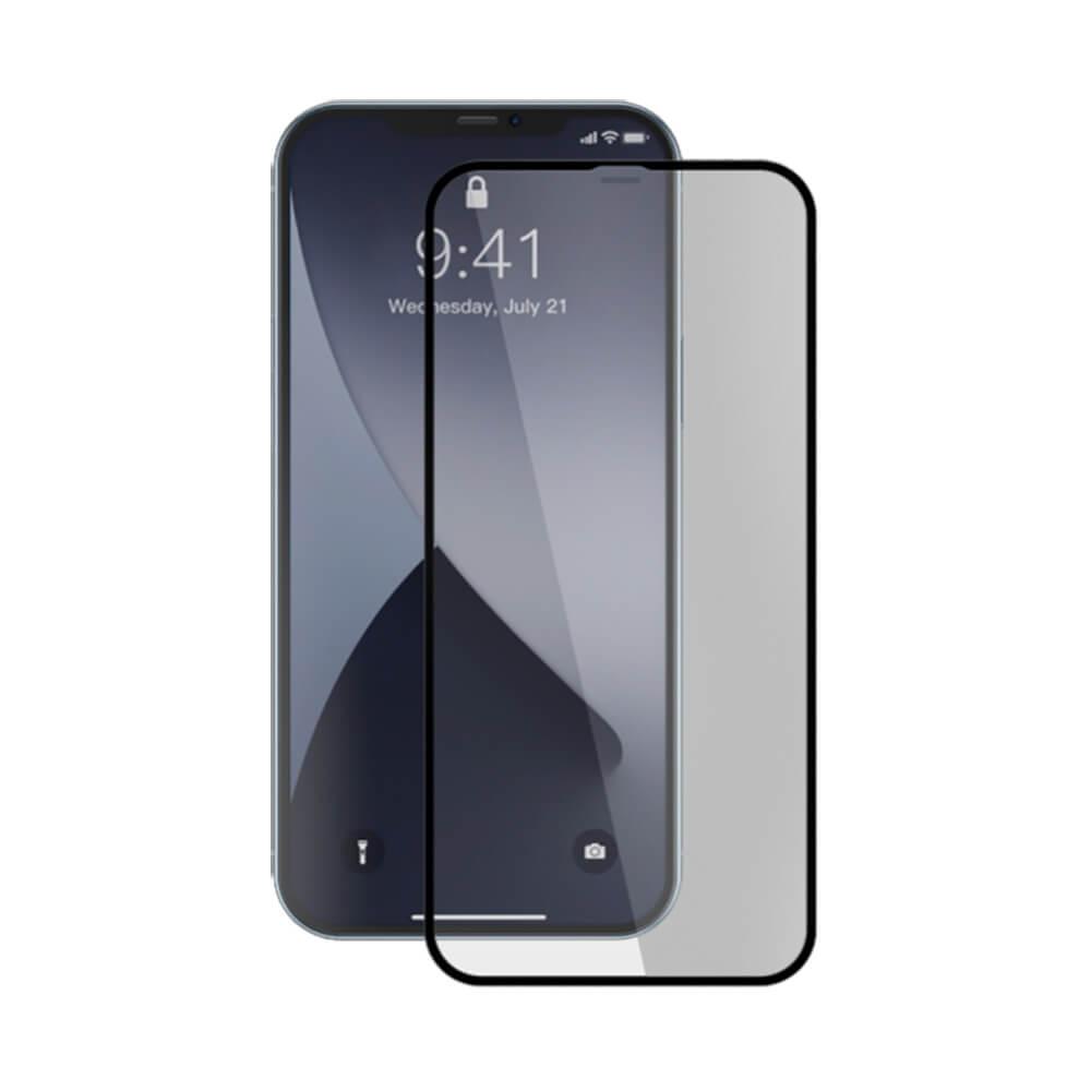 Купить Защитное стекло Baseus Full-screen Curved Tempered Glass 0.3mm Black для iPhone 12 | 12 Pro (2 шт.)