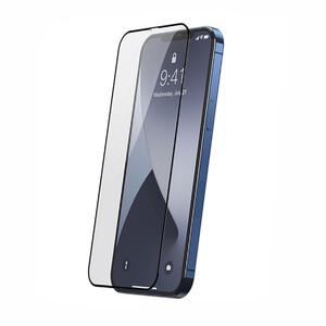 Купить Защитное стекло Baseus Full-screen Tempered Glass 0.25mm Black для iPhone 12 mini (2 шт.)