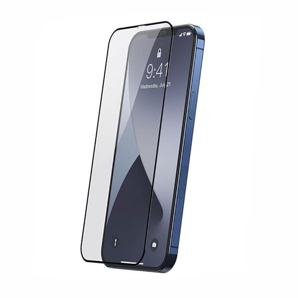 Защитное стекло Baseus Full-screen Tempered Glass 0.25mm Black для iPhone 12 mini (2 шт.)