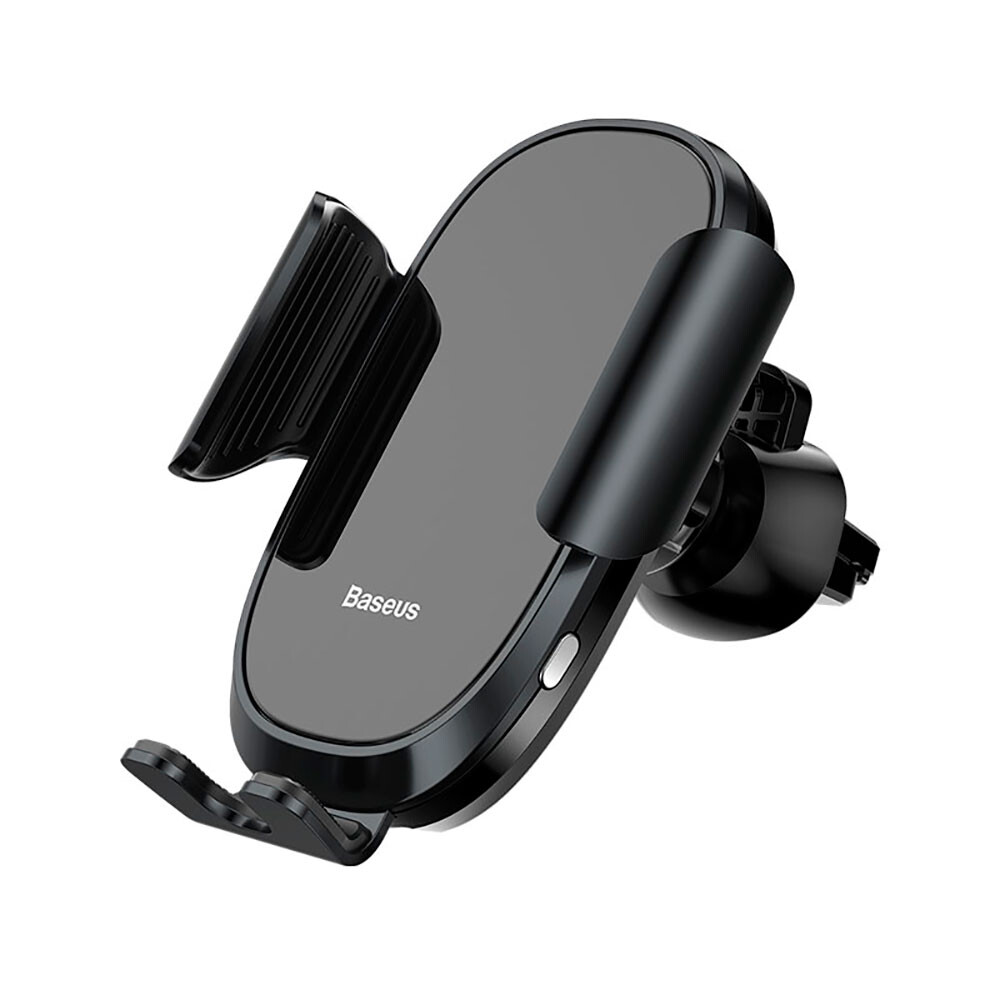 Автодержатель с автоматическим зажимом Baseus Future Series Smart Mount Black