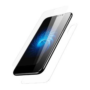 Купить Переднее + заднее защитное стекло Baseus Glass Film Set Transparent для iPhone X