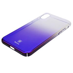 Купить Чехол-накладка Baseus Glaze Case Transparent Black для iPhone X/XS
