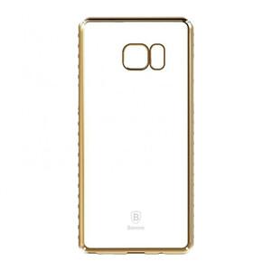 Купить Пластиковый чехол Baseus Glitter Case Gold для Samsung Galaxy Note 7