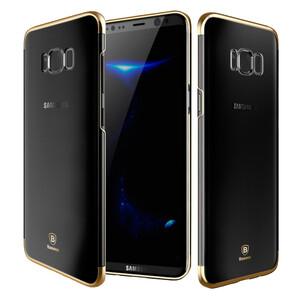 Купить Пластиковый чехол Baseus Glitter Series Gold для Samsung Galaxy S8