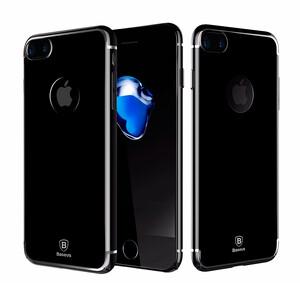 Купить Чехол Baseus Glitter Dual Jet Black для iPhone 7 Plus