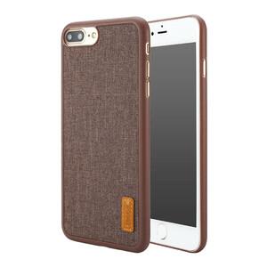Купить Тканевый чехол Baseus Grain Series Brown для iPhone 7 Plus/8 Plus
