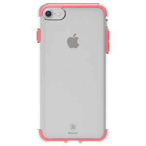 Купить Чехол Baseus Guards TPU+TPE Transparent/Red для iPhone 7