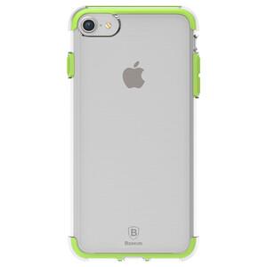 Купить Чехол Baseus Guards TPU+TPE Transparent/Green для iPhone 7/8