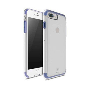 Купить Чехол Baseus Guards TPU+TPE Transparent/Blue для iPhone 7 Plus
