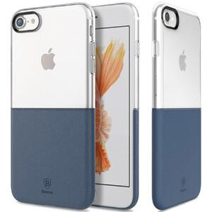 Купить Чехол Baseus Half to Half Transparent/Dark Blue для iPhone 7