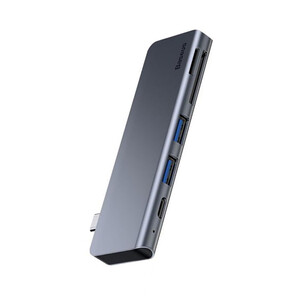Купить Хаб Baseus Harmonica 5-in-1 USB-C Grey