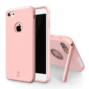 Купить Чехол с подставкой Baseus Hermit PC+TPU Pink для iPhone 7