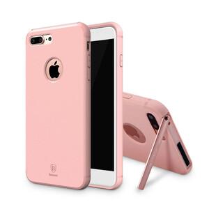 Купить Чехол с подставкой Baseus Hermit PC+TPU Pink для iPhone 7 Plus