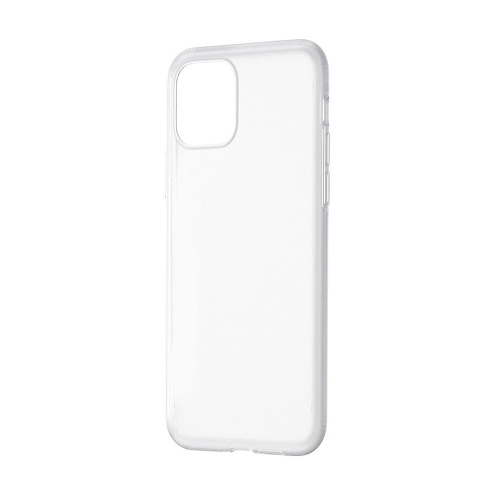 Купить Чехол Baseus Jelly Liquid Silica Gel Transparent White для iPhone 11
