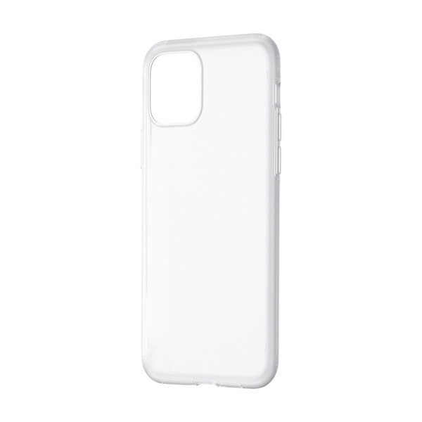 Чехол Baseus Jelly Liquid Silica Gel Transparent White для iPhone 11