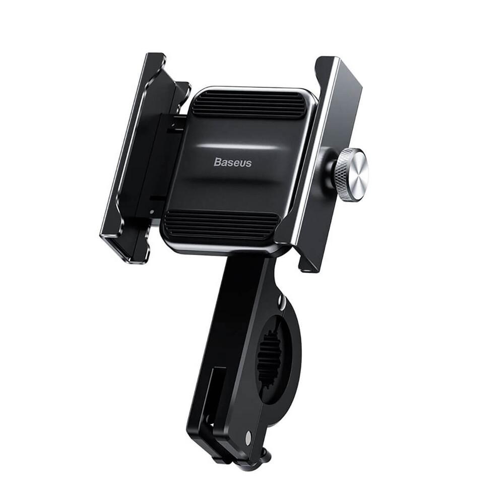 Купить Велодержатель для телефона Baseus Knight Motorcycle Holder Black