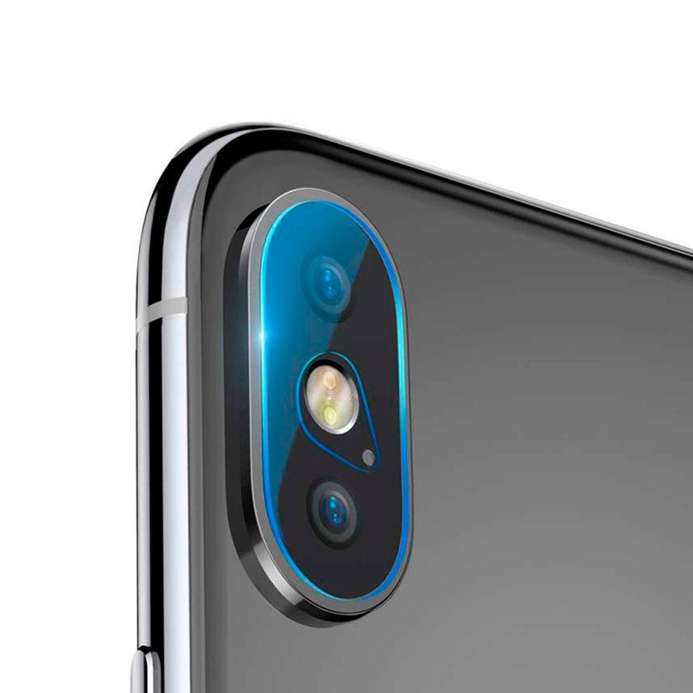 Купить Защитное стекло на камеру Baseus Lens Tempered Glass для iPhone X | XS | XS Max (2 стекла)