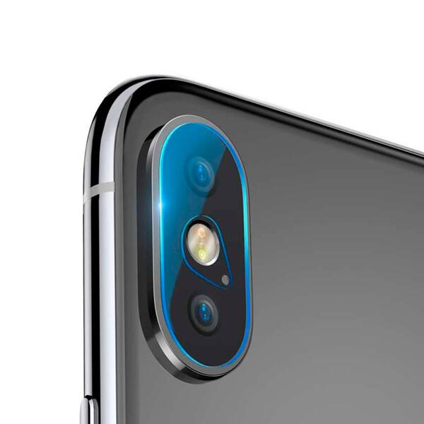 Защитное стекло на камеру Baseus Lens Tempered Glass для iPhone X | XS | XS Max (2 стекла)