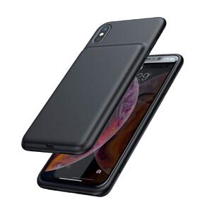 Купить Чехол-аккумулятор Baseus Liquid Silicone Smart Power Black для iPhone X/XS