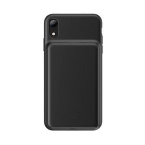 Купить Чехол-аккумулятор Baseus Liquid Silicone Smart Power Black для iPhone XR
