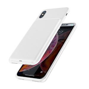 Купить Чехол-аккумулятор Baseus Liquid Silicone Smart Power White для iPhone X/XS