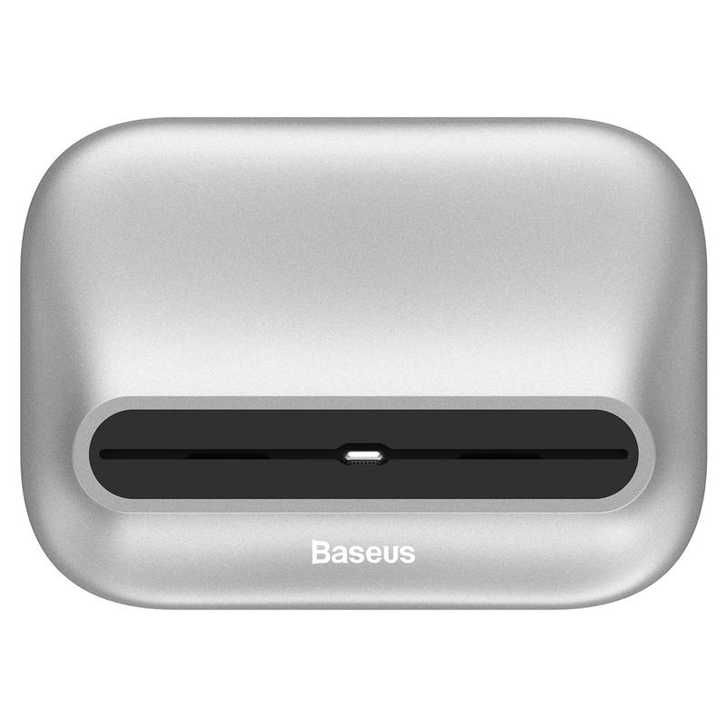 Купить Док-станция Baseus Little Volcano Silver для iPhone