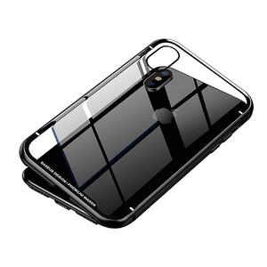 Купить Магнитный чехол Baseus Magnetite Hardware Case Black для iPhone X/XS, Цена 499 грн