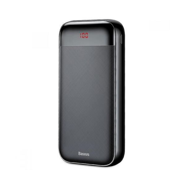 Внешний аккумулятор Baseus Mini Cu Digital Display 20000mAh Black