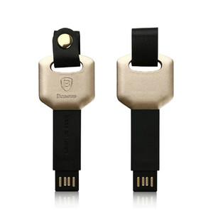 Купить Брелок-кабель Baseus Mini Key Lightning to USB Golden