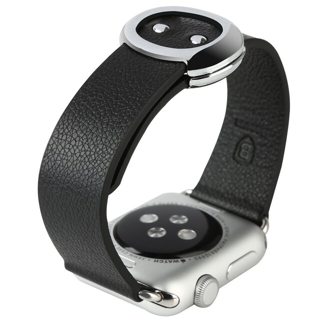 Ремешок Baseus Modern Series Black для Apple Watch 38mm