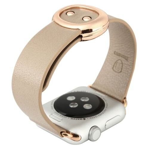 Ремешок Baseus Modern Series Khaki для Apple Watch 38mm Series 1/2