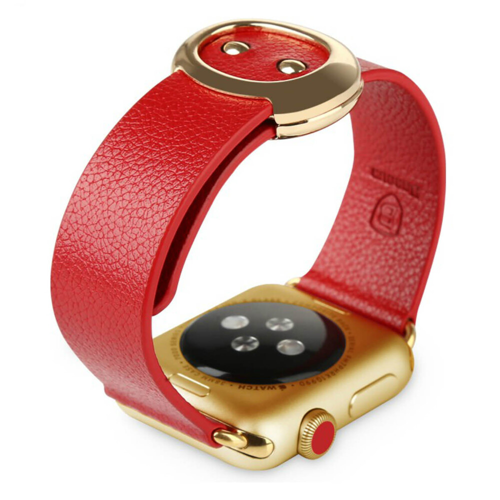 Ремешок Baseus Modern Series Red для Apple Watch 38mm Series 1/2/3