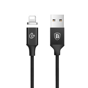 Купить Магнитный кабель Baseus New Insnap Series Black Lightning to USB 1.2m