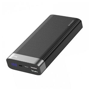 Купить Внешний аккумулятор Baseus Parallel USB Type-C PD 20000mAh Black