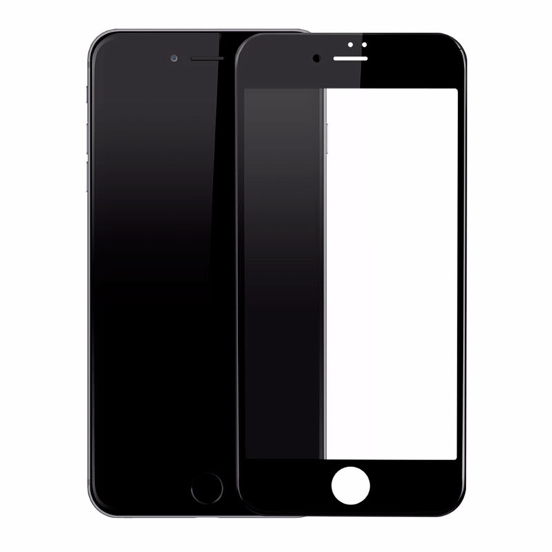Защитное стекло Baseus PET Soft 3D Tempered Glass 0.23mm Black для iPhone 7 Plus/8 Plus
