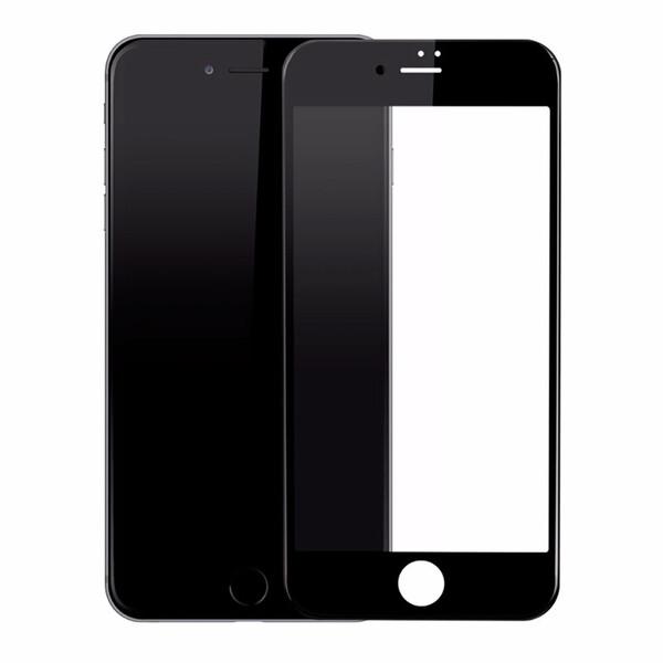 Защитное стекло Baseus PET Soft 3D Tempered Glass 0.23mm Black для iPhone 7 Plus   8 Plus