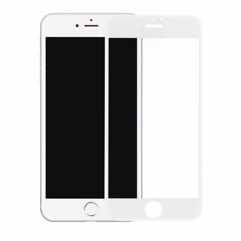 Защитное стекло Baseus PET Soft 3D Tempered Glass 0.23mm White для iPhone 7 Plus