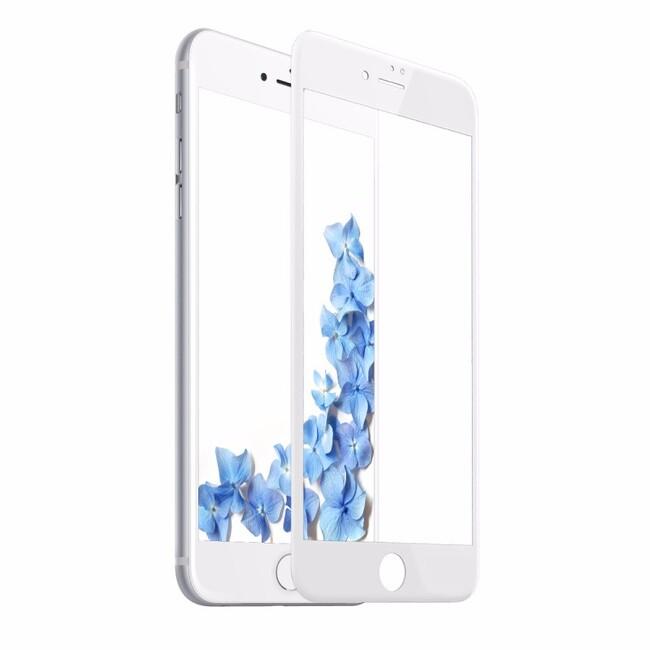Защитное стекло Baseus Silk Screen Printed 0.2mm White для iPhone 7