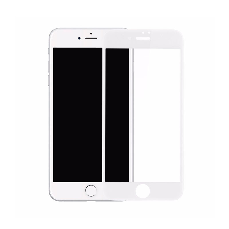Защитное стекло Baseus PET Soft 3D Tempered Glass 0.23mm White для iPhone 7/8