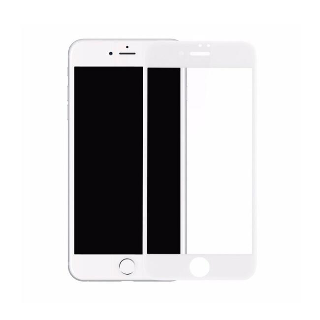 Защитное стекло Baseus PET Soft 3D Tempered Glass 0.23mm White для iPhone 7