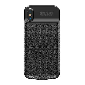 Купить Чехол-аккумулятор Baseus Plaid Backpack 3500mAh Black для iPhone X