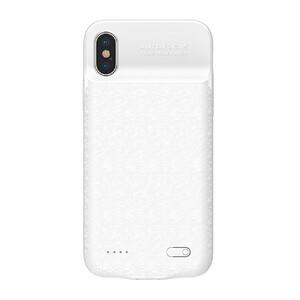 Купить Чехол-аккумулятор Baseus Plaid Backpack 3500mAh White для iPhone X