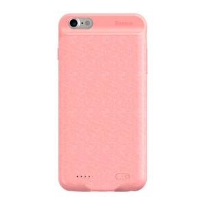 Купить Чехол-аккумулятор Baseus Plaid Backpack 5000mah Pink для iPhone 6/6s